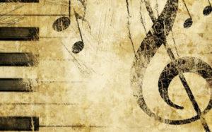 Old music wallpaper